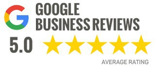 5 stars from Google Customer Reviews
